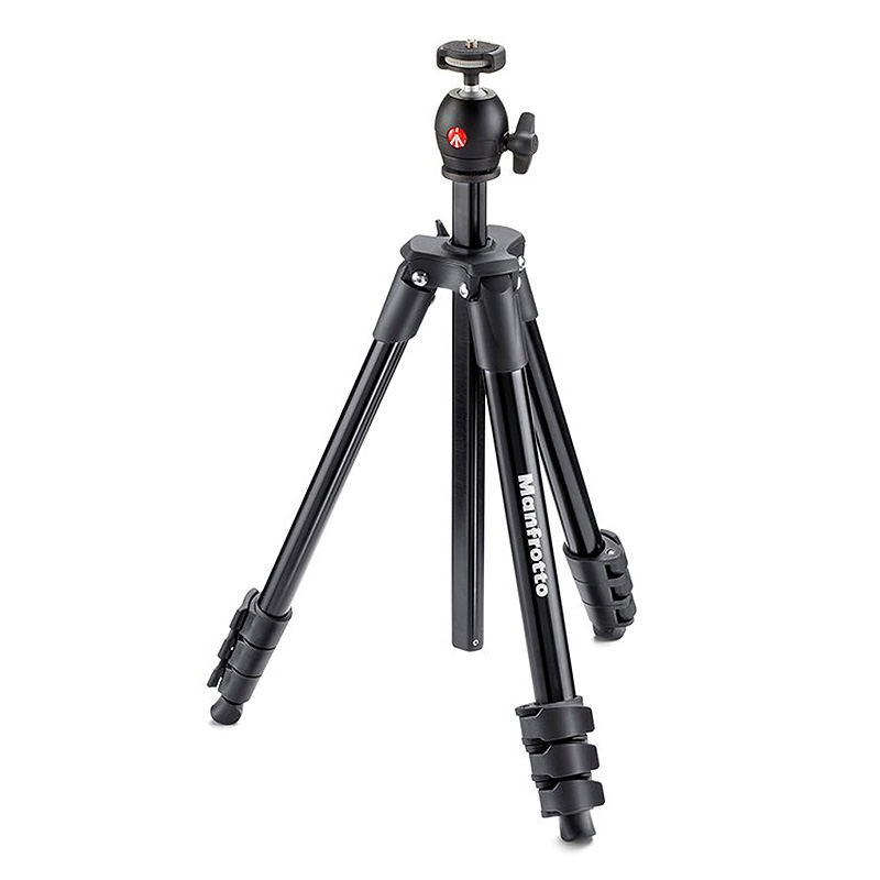Manfrotto MKCOMPACTLT-BK (Compact Light Svart)