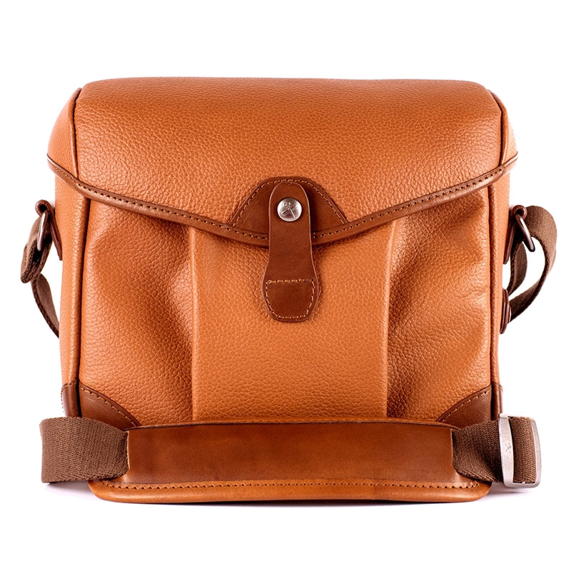 Barber Shop Smartbob Small Messenger Grained Brown Leather