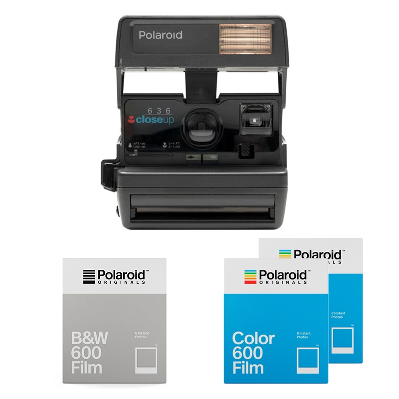 Polaroid Originals 600 Camera Square Startpaket