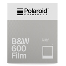 Polaroid Originals B&W Film For 600 White Frame