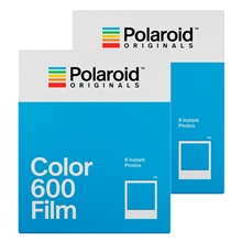 Polaroid Originals Color Film For 600 White Frame 2-Pack